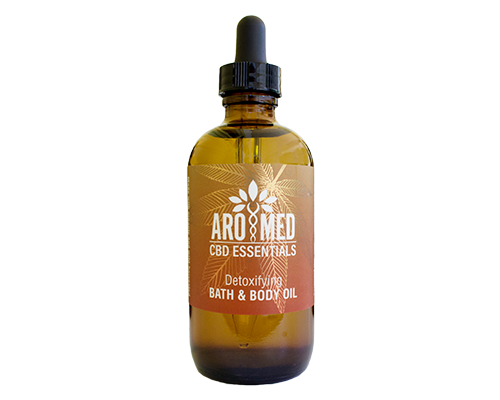 Detoxifying CBD Bath and Body Oil