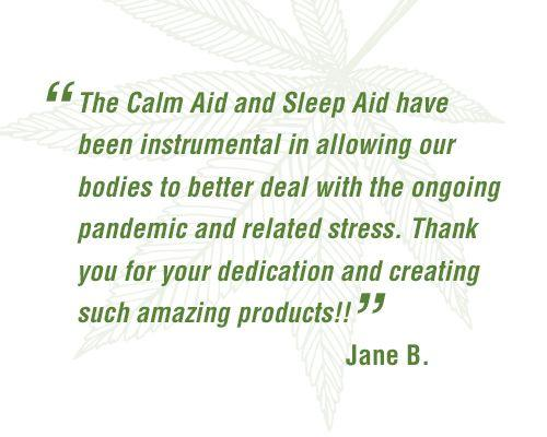 Calm Aid - CBD Roll-On * Customer favorite